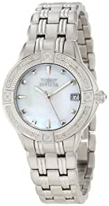 Invicta Women's 0266 II Collection Diamond Accented Stainless Steel Watch