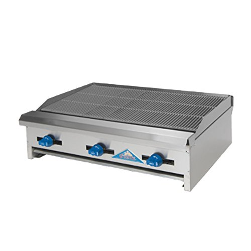 (Comstock Castle ERB30 Countertop Gas Radiant Char Broiler)