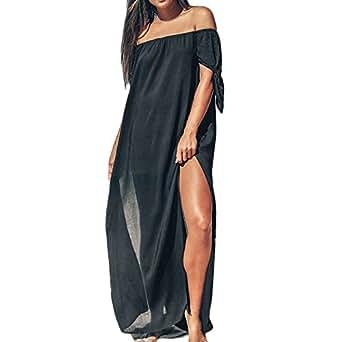 Dorical Vestido Verano Nueva Simple Casual Sexy Vintage Slim ...