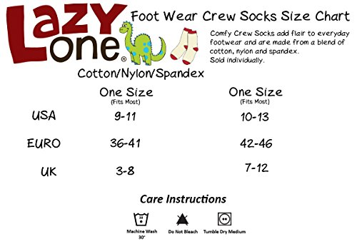 LazyOne Unisexe I Otter Be in Bed Adulte Slipper Pantoufles Chaussettes 37-41