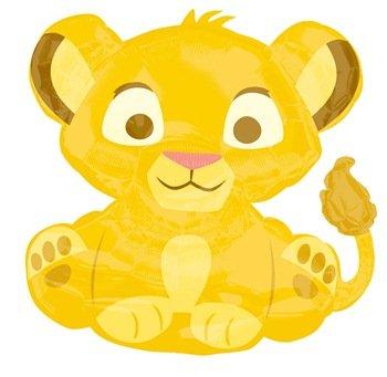 Baby Simba Lion King 25 Super Shape Foil Balloon Buy Online In
