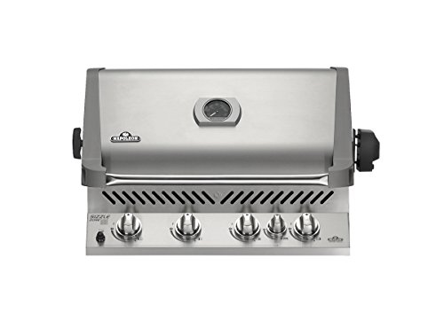 Napoleon BIP500RBNSS Built-In Prestige Natural Gas Grill, Stainless Steel