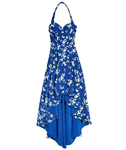 alice and olivia blue dress - 8