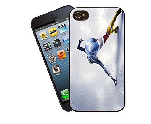 Eisschnelllauf-iPhone case Hülle für iPhone 4 und 4s-Modell von Eclipse Geschenkidee