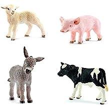 "Schleich North America Little Animals on the Farm Set Toy Figurines, Multi, 2.04"" x 7.36"""