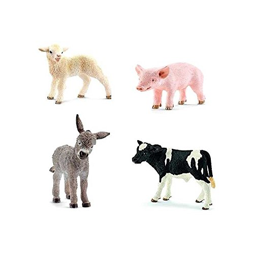 Schleich North America Little Animals On The Farm Set