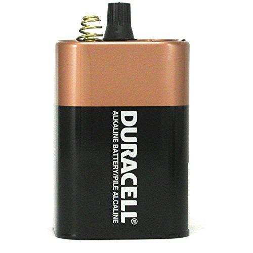 Duracell MN908 Coppertop Alkaline Lantern 908 Battery, 6-Volt, 1-Battery ()