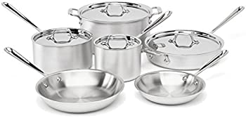 All-Clad 700362 Master Chef 2 10-Pc. Cookware Set