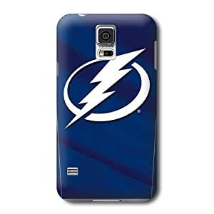 ArtPopTart S5 Case,NHL Tampa Bay Lightning Pattern Samsung Galaxy S5 Covers,Durable Hard Case Covers