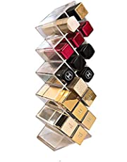 Arabest Acrylic Lipstick Holder - Transparent Acrylic Is Suitable For 16 Lipstick Storage Holders, Very Suitable For Lipstick, Lip Gloss, Lipstick And Dressing Table Display