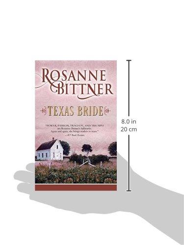 Texas Bride (The Bride Series): Rosanne Bittner: 9781626813748: Amazon.com: Books