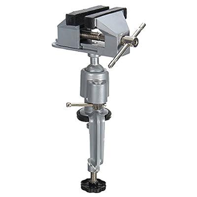 Vise Work Bench Swivel 360° Rotating Clamp Tabletop Deluxe Craft Repair DIY Tool
