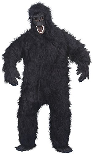 Gorilla Costume Male One Size 23907