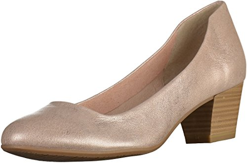 Tamaris 1-1-22302-28-991 - Zapatos de vestir para mujer 952ROSE METALLIC