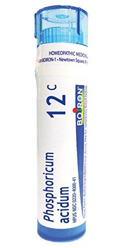 (Boiron Phosphoricum Acidum 12C, 80 Pellets, Homeopathic Medicine for Concentration)