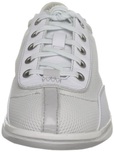 Bianco White pure Yezenia Lace Grey warm Donna Up Sneaker Rockport RwxpUAXqX