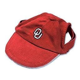 Sporty K9 Collegiate Oklahoma Sooners Dog Cap, Medium