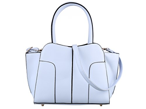Valentine's Sale TZECHO Women Top Handle Satchel Handbags,Zip Closure Tote Shoulder Bag,TZA029