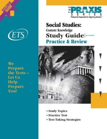 Social Studies: Content Knowledge Study Guide (Praxis Study Guides)