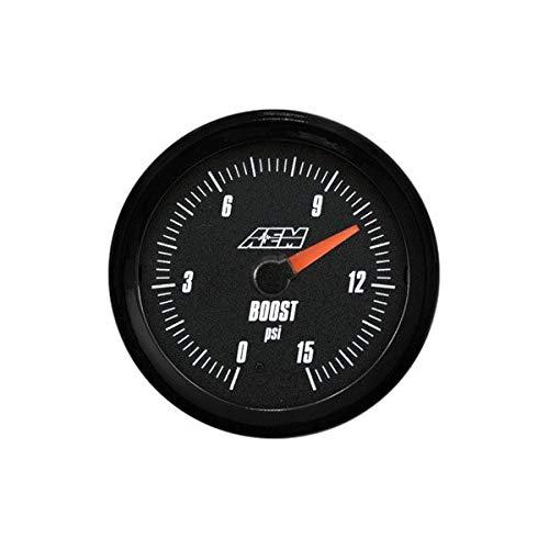 AEM Electronics 30-5144 Analog Boost/Fuel Pressure SAE 0-15 PSI Gauge ()