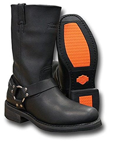 Harley-Davidson Hustin BLK 11 Zoll Welt Harness DE D97007 Herren Shoes