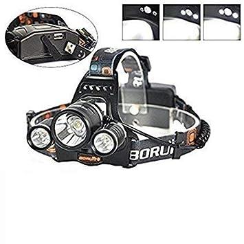Imperméable Lumière Pour Lampe Head xm Confortable Puissance 3 Boruit 5000lm L2 Frontale Led Lumineuse Portable Phare Torche 4 Modes UzMGqSVp