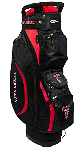 Team Golf NCAA Clubhouse Cart Bag, Texas Tech by Team Golf