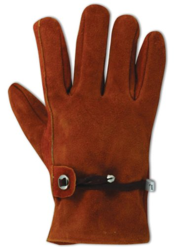 - Magid T341T-L Men's Pro Grade Collection Suede Keystone Thumb Gloves, Large