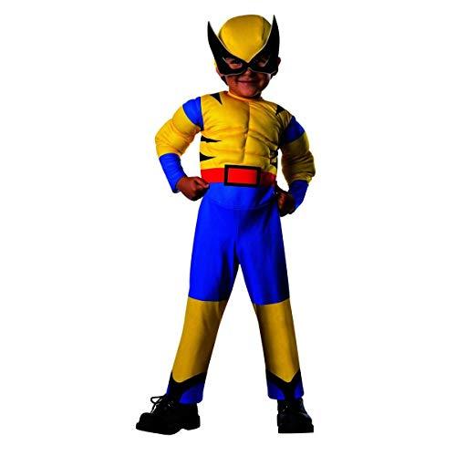Rubie's Costume Baby Boy's Marvel Classic Costume Lil Wolverine, Multi, -