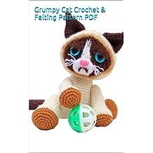 Grumpy Cat Crochet & Felting Pattern PDF