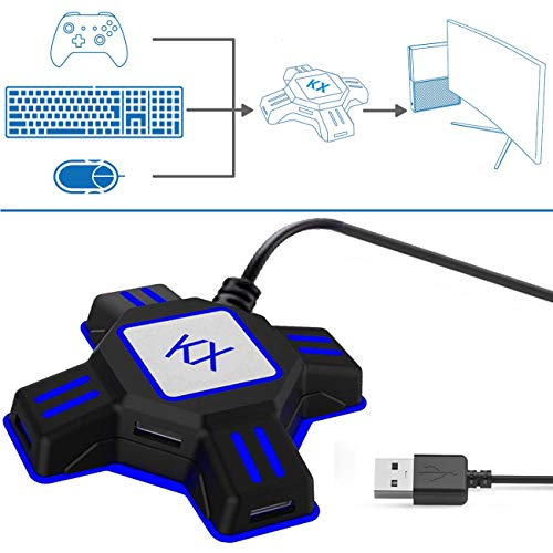 Keyboard and Mouse Adapter for Xbox One PS4 PS3 Switch PC (Use Keyboard And Mouse On Xbox One)