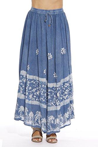Riviera Sun 21741-DNM-L Skirt/Skirts For Women