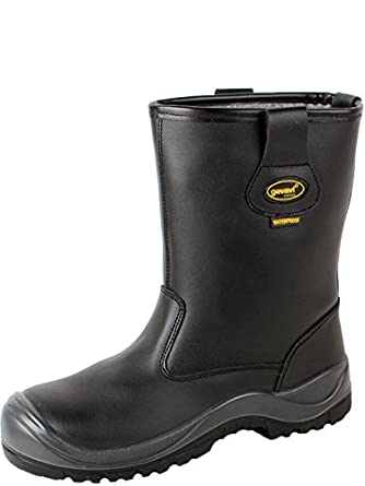 Gevavi gs8600430 Safety gs86 Davos Botas de seguridad S3, 43, color negro