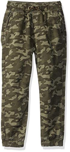 Gymboree Boys Relaxed Fit Jogger, camo, L ()