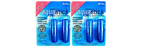 PureGuardian GGHS152PK Aquastick Antimicrobial Humidifier Treatment, Pure Guardian Humidifiers, Fits all Brands, Reduces Mold & Odors, Ultrasonic & Evaporative, Two 2-packs (Humidifier For Stick Silver)