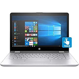 HP Pavilion x360 14-ba253cl 14 inches Touchscreen, 1920x1080, Core i5 i5-8265U, 8GB RAM/1TB HDD, Silver (Renewed)