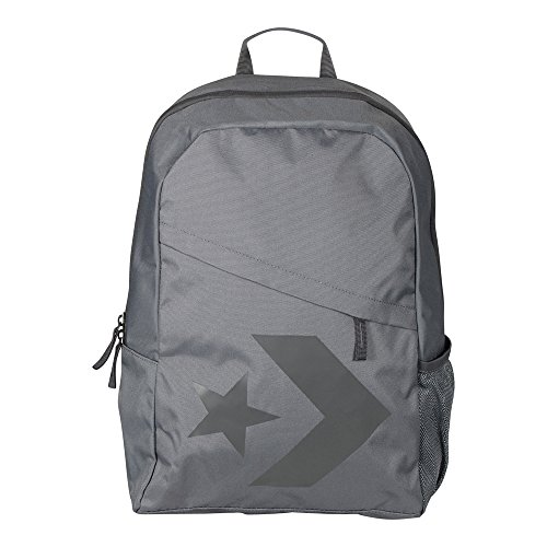 75c4029856b Converse 10005996-A01 Speed Backpack Star Chevron Backpack 001 Black   Amazon.co.uk  Shoes   Bags