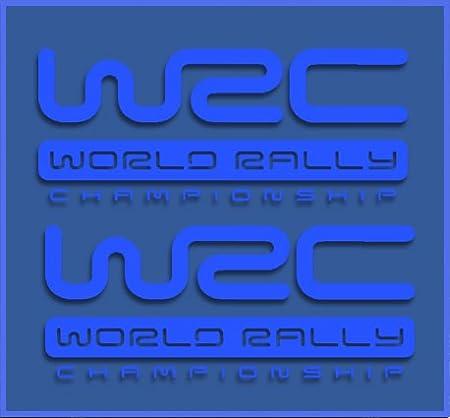 Azul Ecoshirt HF-XOWI-XBXX Pegatinas WRC Rally Dr1009 Vinilo Adesivi Decal Aufkleber Клей Stickers Car Voiture