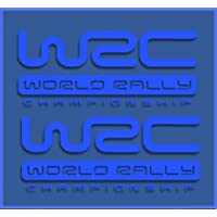 Ecoshirt HF-XOWI-XBXX Pegatinas WRC Rally Dr1009 Vinilo Adesivi
