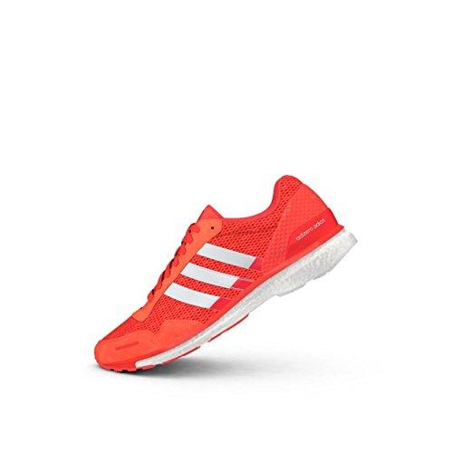 Pour Solar Chaussures 3 Adizero White Femmes Adios Red De Bb4902 Adidas Course qHqwTY6