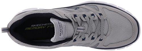 SKECHERS - Flex Advantage - Herren Sneaker - Grau Schuhe in Übergrößen