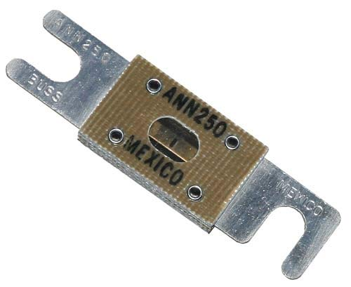 Universal Golf Cart Alltrax 250 Amp Fuse - 300-400 Amp Controller Applications -  Performance Plus Carts, 448