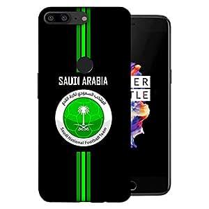 ColorKing OnePlus 5T Football Black Case shell cover - Fifa Saudi Arabia 01