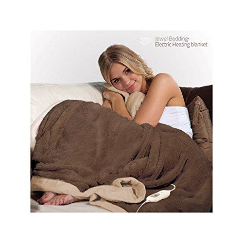Eléctrica Manta Manta eléctrica GT de HD 160 W 180 x 130 cm en color marrón/beige: Amazon.es: Salud y cuidado personal