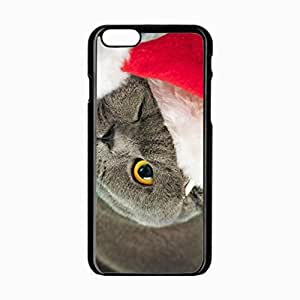 iPhone 6 Black Hardshell Case 4.7inch hat eyes thick Desin Images Protector Back Cover