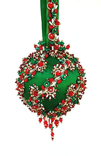 (The Glimmer Tree Sleigh Ride Beaded Ornament Kit 3