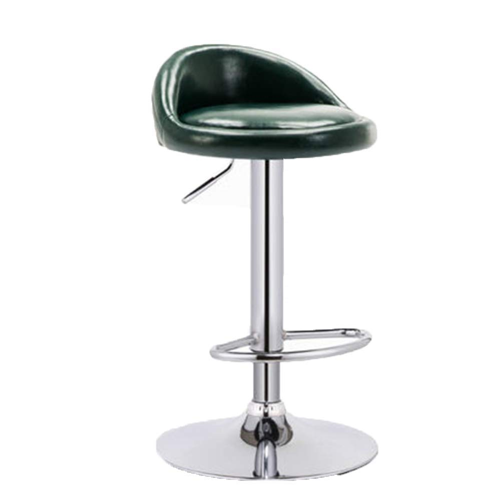 A Bar Stool redating Lift Breakfast Stool for Family Front Desk Coffee Shop Kitchen Multi-color Optional (color   F)