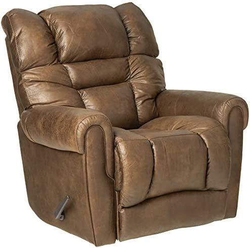 Lane Home Furnishings 4210-18 Gatlin Swivel Rocker Recliner, Mocha