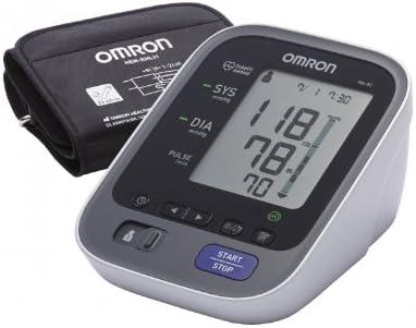 OMRON M6 AC - Tensiómetro de brazo, color blanco y negro [importado de Alemania]