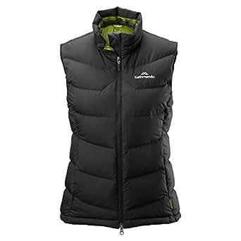 Kathmandu Epiq Womens Sleeveless Warm Winter Outdoor Duck Down Puffer Vest Women's Black 10